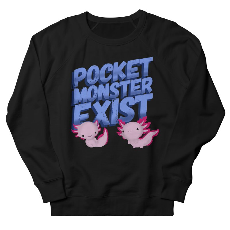 Pocket Monster Men's French Terry Sweatshirt by Colmena Ink's Shop