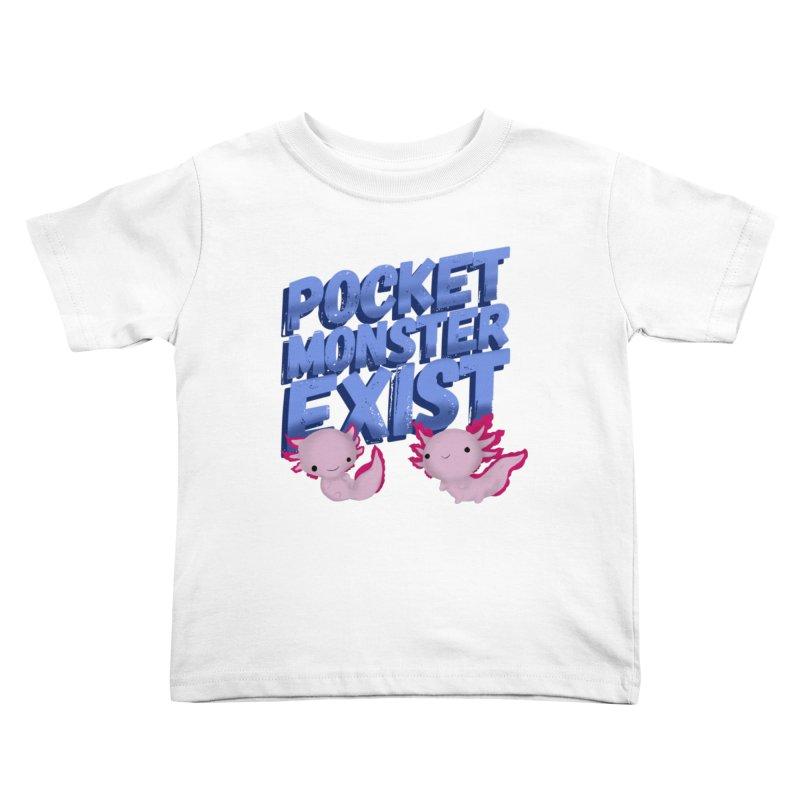 Pocket Monster Kids Toddler T-Shirt by Colmena Ink's Shop