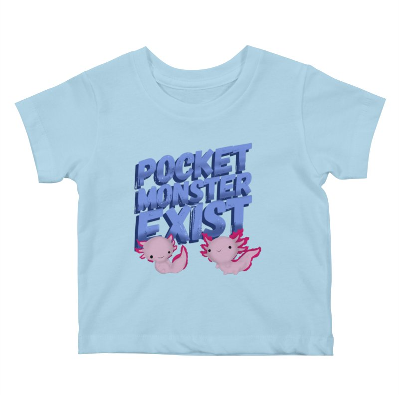 Pocket Monster Kids Baby T-Shirt by Colmena Ink's Shop