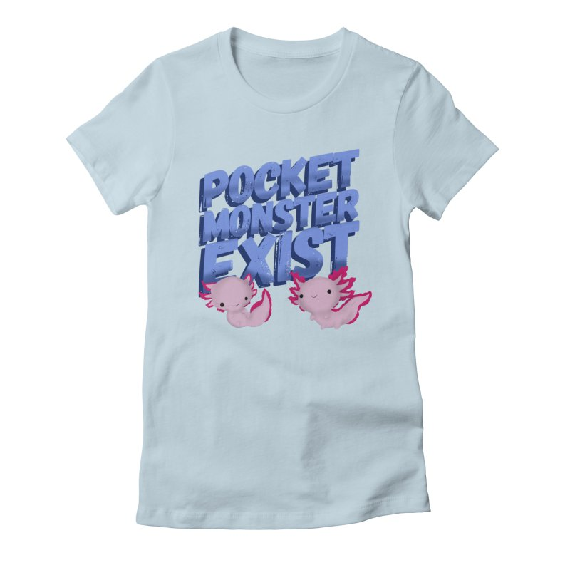Pocket Monster Women's Fitted T-Shirt by Colmena Ink's Shop