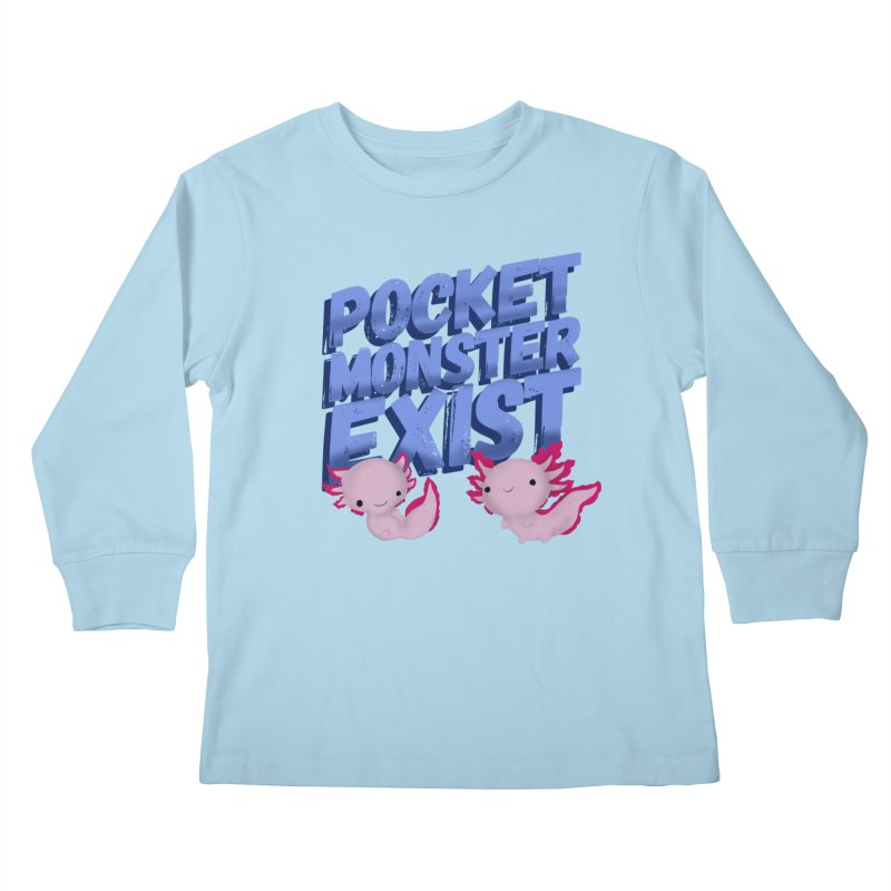 Pocket Monster Kids Longsleeve T-Shirt by Colmena Ink's Shop