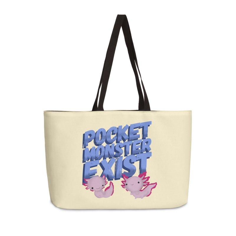 Pocket Monster Accessories Weekender Bag Bag by Colmena Ink's Shop