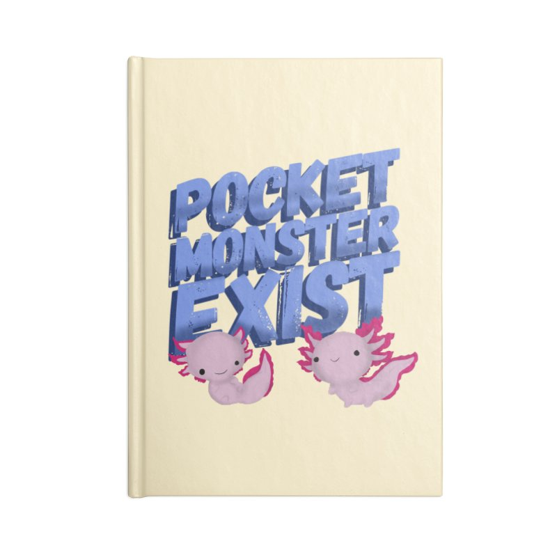 Pocket Monster Accessories Blank Journal Notebook by Colmena Ink's Shop