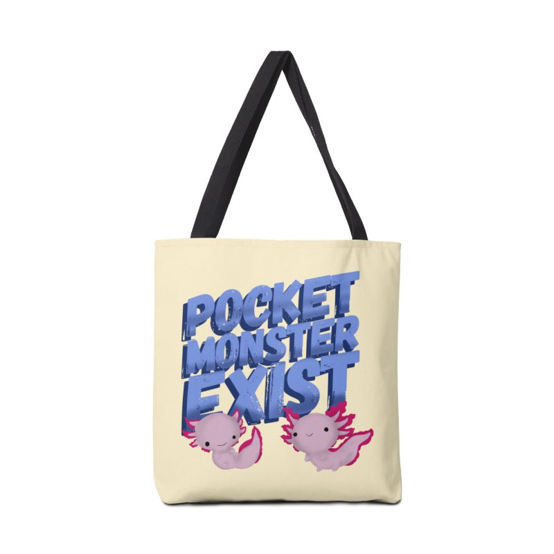Pocket Monster Accessories Bag by Colmena Ink's Shop