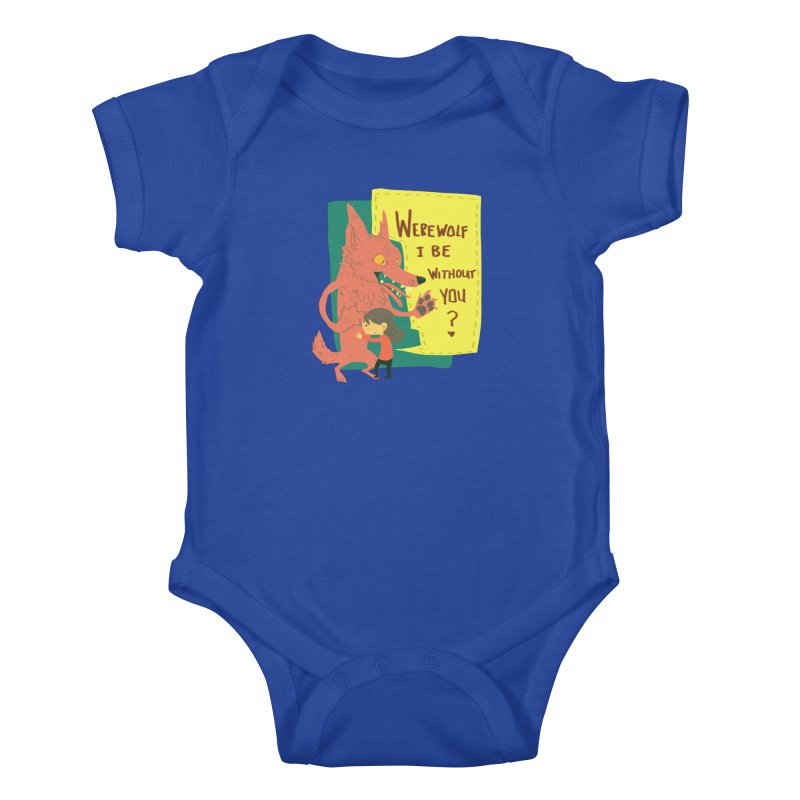 Werewolf I Be Without You Kids Baby Bodysuit by coloradventure's Artist Shop