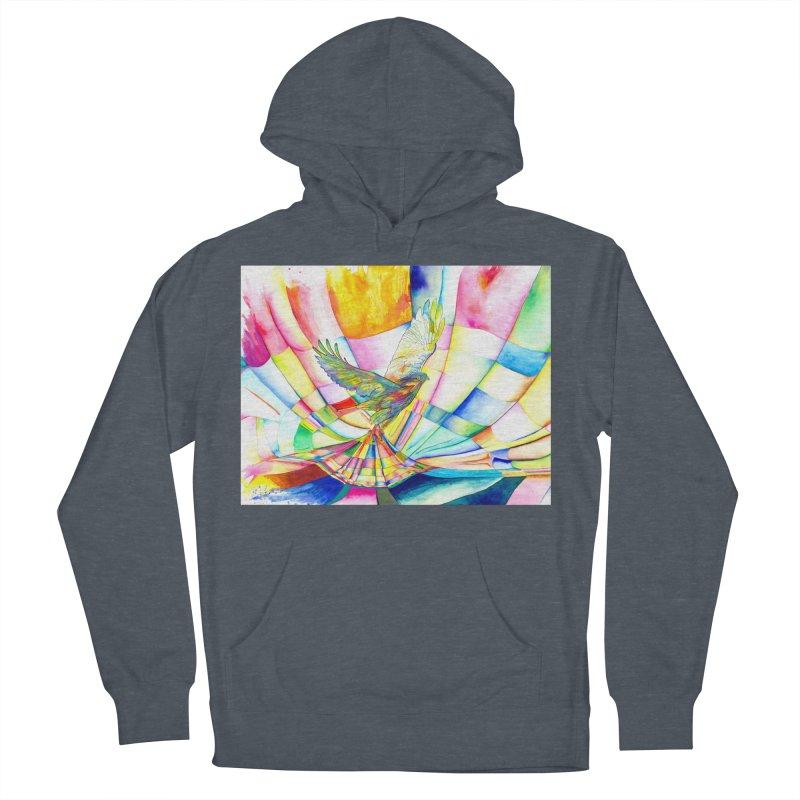 I Am Slumber-Catcher, the Hawk Women's Pullover Hoody by Colour Wave Art SHOP