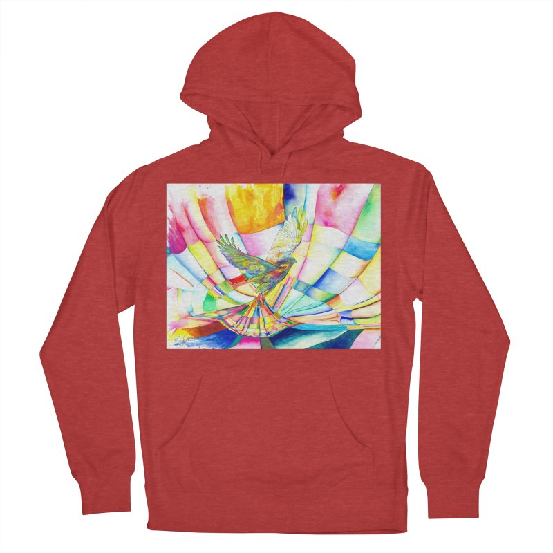 I Am Slumber-Catcher, the Hawk Men's Pullover Hoody by Colour Wave Art SHOP