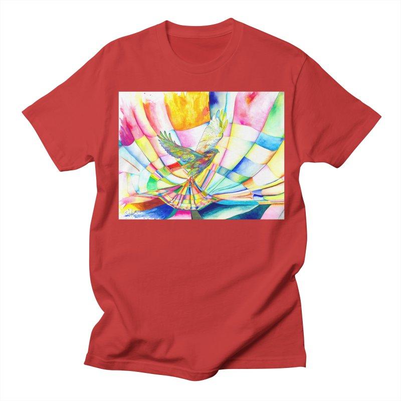 I Am Slumber-Catcher, the Hawk Men's T-Shirt by Colour Wave Art SHOP