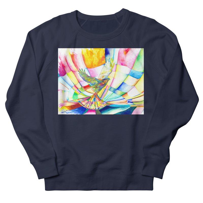 I Am Slumber-Catcher, the Hawk Women's French Terry Sweatshirt by Colour Wave Art SHOP