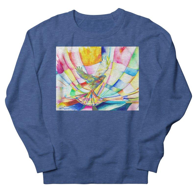 I Am Slumber-Catcher, the Hawk Men's Sweatshirt by Colour Wave Art SHOP
