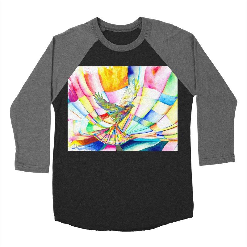 I Am Slumber-Catcher, the Hawk Women's Baseball Triblend T-Shirt by Colour Wave Art SHOP