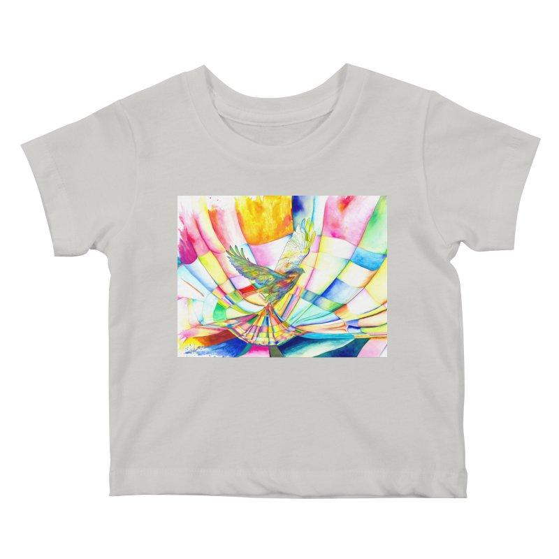 I Am Slumber-Catcher, the Hawk Kids Baby T-Shirt by Colour Wave Art SHOP