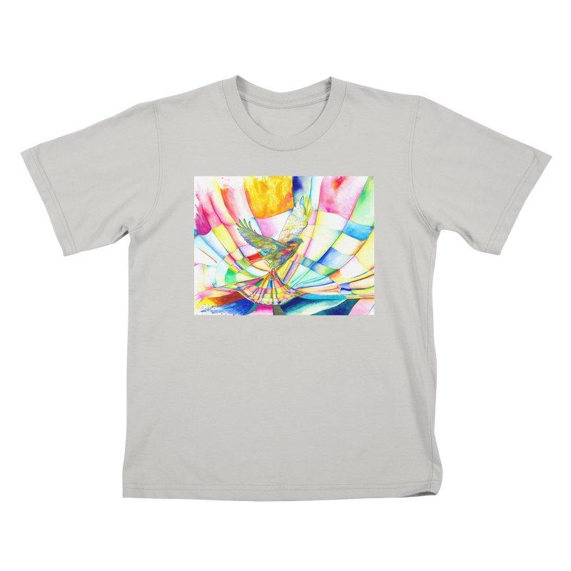 I Am Slumber-Catcher, the Hawk Kids T-Shirt by Colour Wave Art SHOP