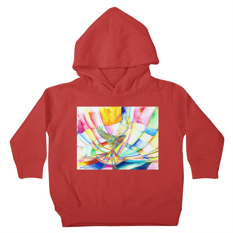 I Am Slumber-Catcher, the Hawk Kids Toddler Pullover Hoody by Colour Wave Art SHOP