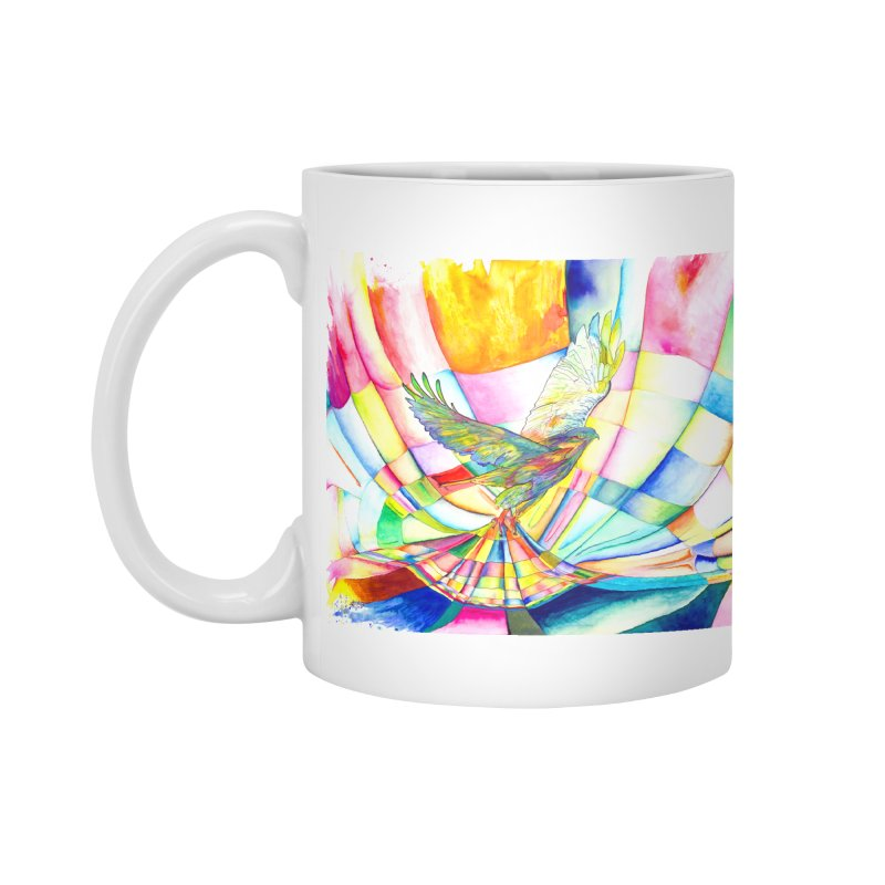 I Am Slumber-Catcher, the Hawk Accessories Mug by Colour Wave Art SHOP
