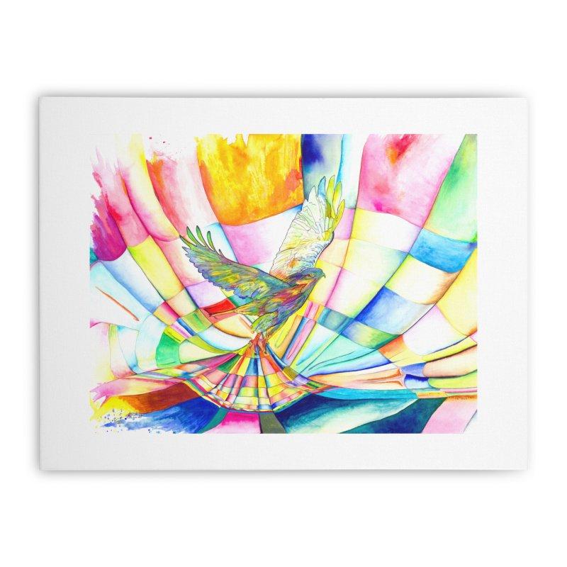 I Am Slumber-Catcher, the Hawk Home Stretched Canvas by Colour Wave Art SHOP