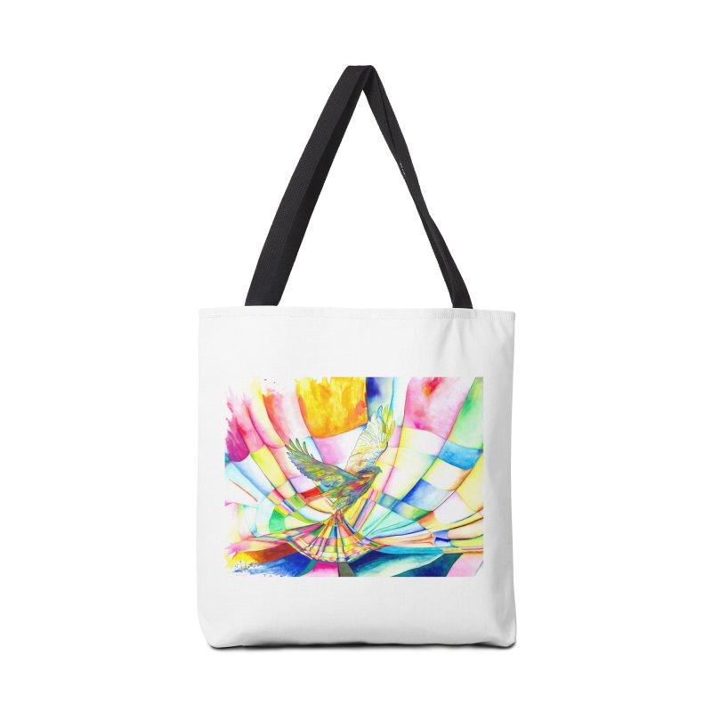 I Am Slumber-Catcher, the Hawk Accessories Bag by Colour Wave Art SHOP