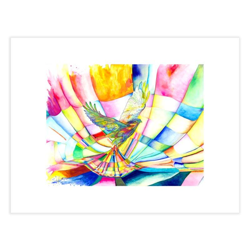 I Am Slumber-Catcher, the Hawk Home Fine Art Print by Colour Wave Art SHOP