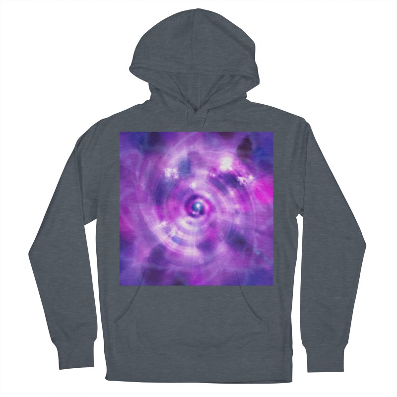 Ultraviolet Sahasrara (Pantone Colour of the Year 2018) Women's French Terry Pullover Hoody by Colour Wave Art SHOP