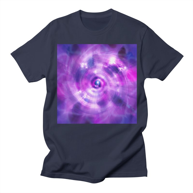 Ultraviolet Sahasrara (Pantone Colour of the Year 2018) Women's Unisex T-Shirt by Colour Wave Art SHOP
