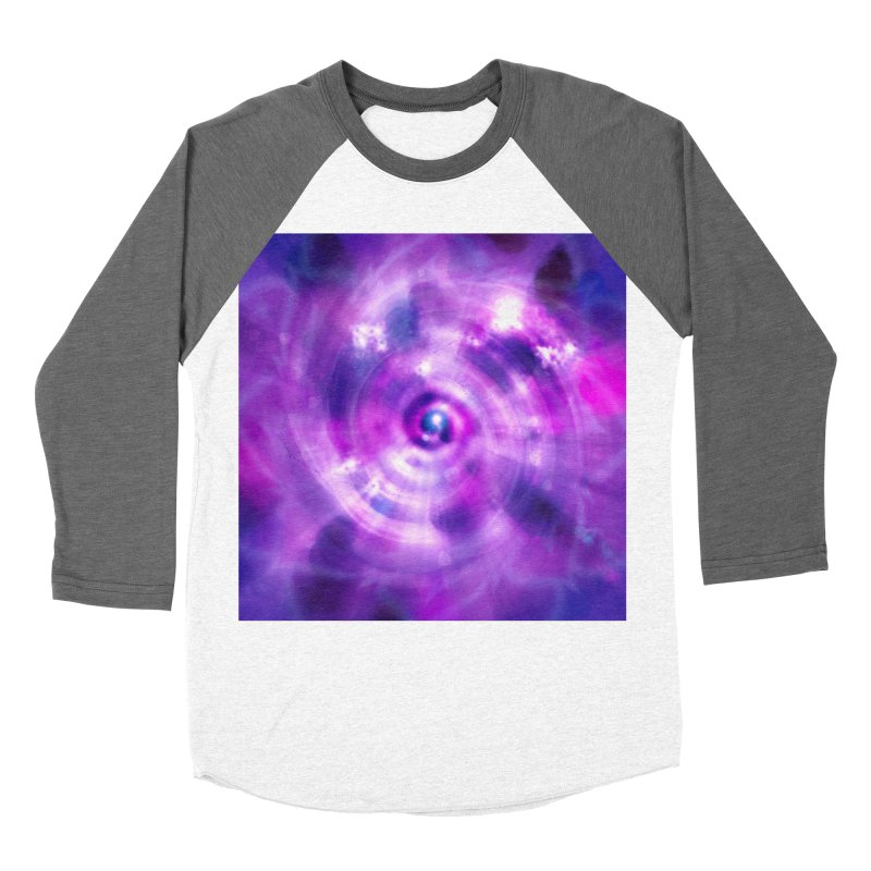 Ultraviolet Sahasrara (Pantone Colour of the Year 2018) Men's Baseball Triblend T-Shirt by Colour Wave Art SHOP