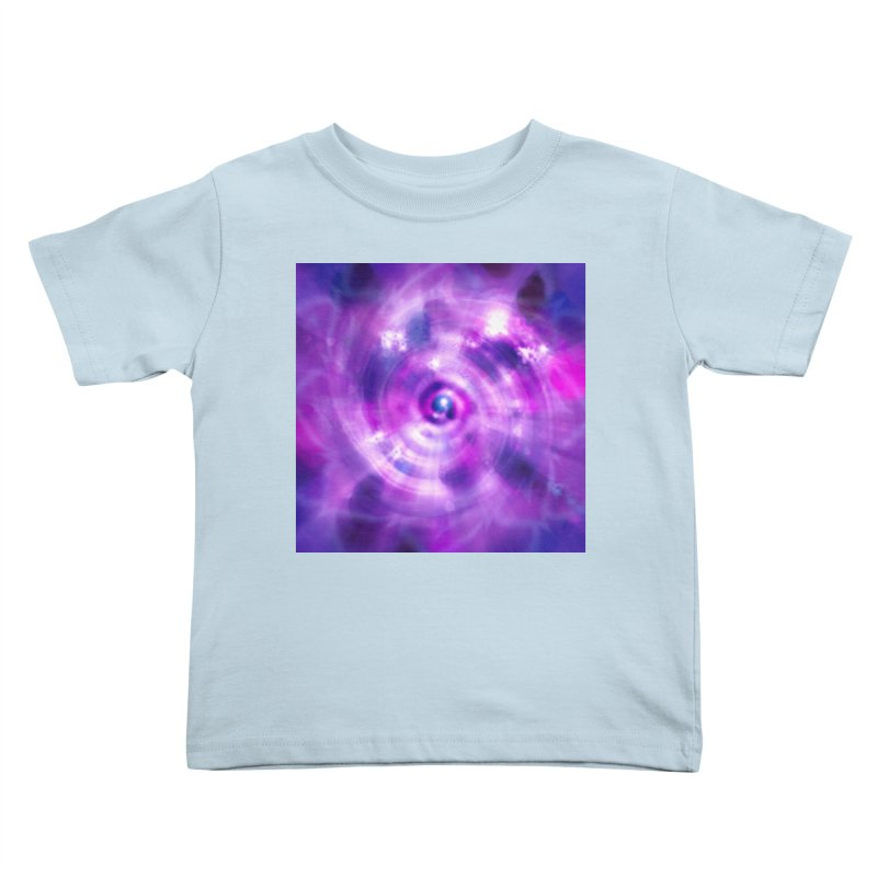 Ultraviolet Sahasrara (Pantone Colour of the Year 2018) Kids Toddler T-Shirt by Colour Wave Art SHOP