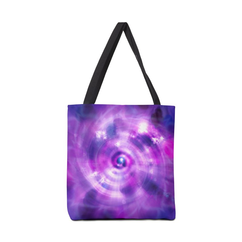 Ultraviolet Sahasrara (Pantone Colour of the Year 2018) Accessories Bag by Colour Wave Art SHOP