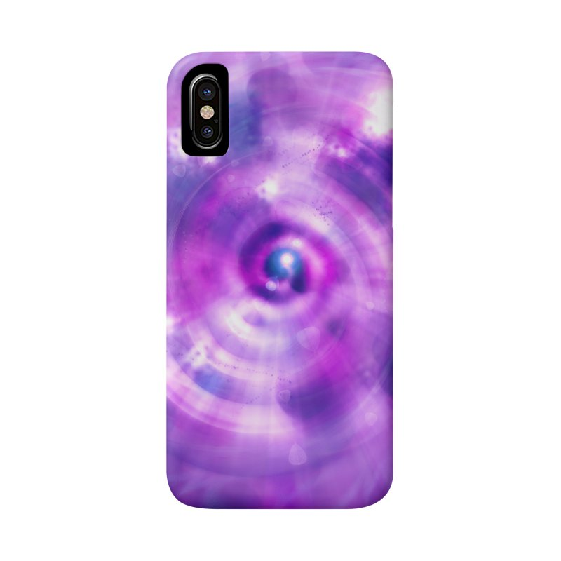 Ultraviolet Sahasrara (Pantone Colour of the Year 2018) Accessories Phone Case by Colour Wave Art SHOP
