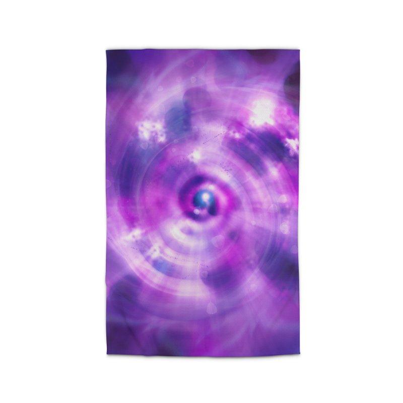 Ultraviolet Sahasrara (Pantone Colour of the Year 2018) Home Rug by Colour Wave Art SHOP