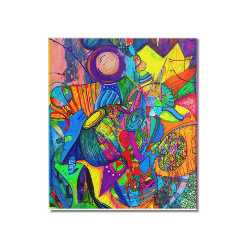 Miracleye Home Mounted Acrylic Print by Matteo Sica Colour Wave Art