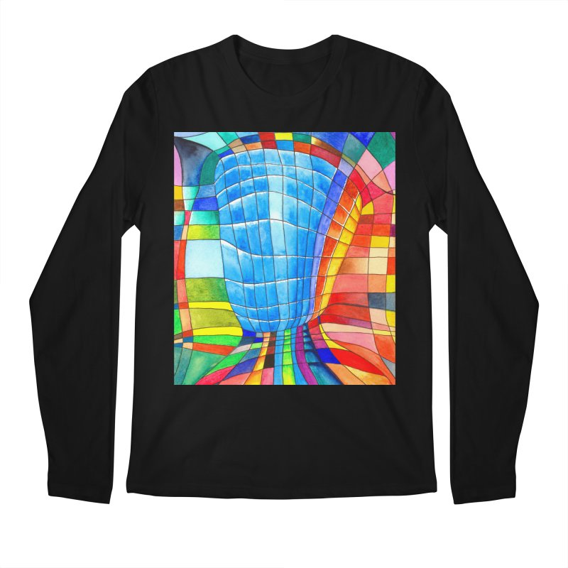 I'd like to go out with you(tube). Would you like to go out with me(ssenger)? Men's Longsleeve T-Shirt by Colour Wave Art SHOP