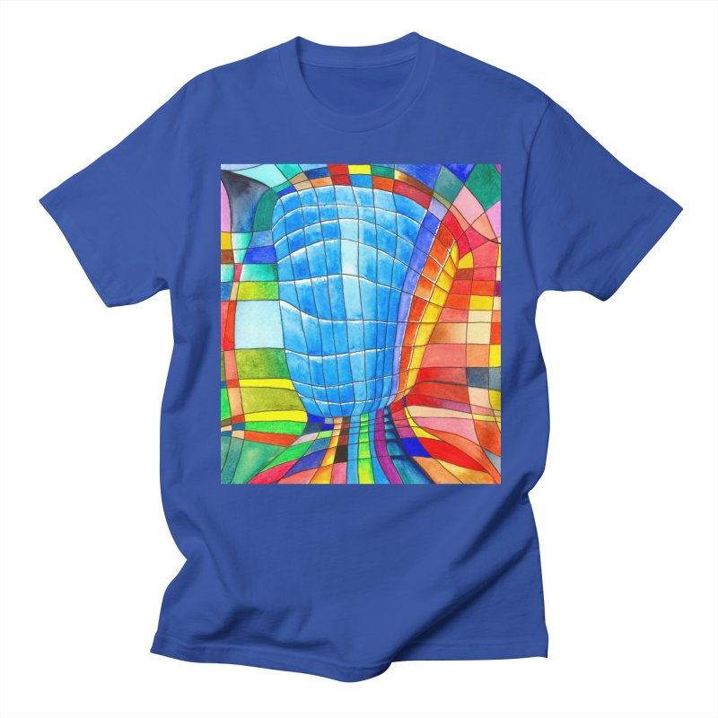 I'd like to go out with you(tube). Would you like to go out with me(ssenger)? Men's T-Shirt by Colour Wave Art SHOP