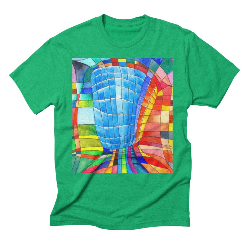 I'd like to go out with you(tube). Would you like to go out with me(ssenger)? Men's Triblend T-shirt by Colour Wave Art SHOP
