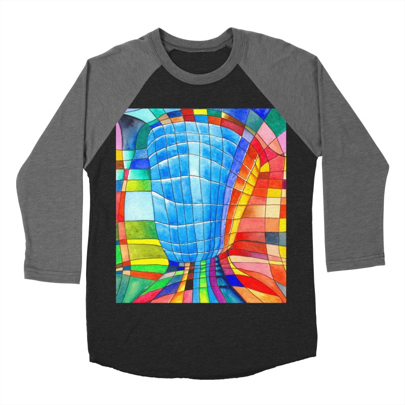 I'd like to go out with you(tube). Would you like to go out with me(ssenger)? Men's Baseball Triblend T-Shirt by Colour Wave Art SHOP