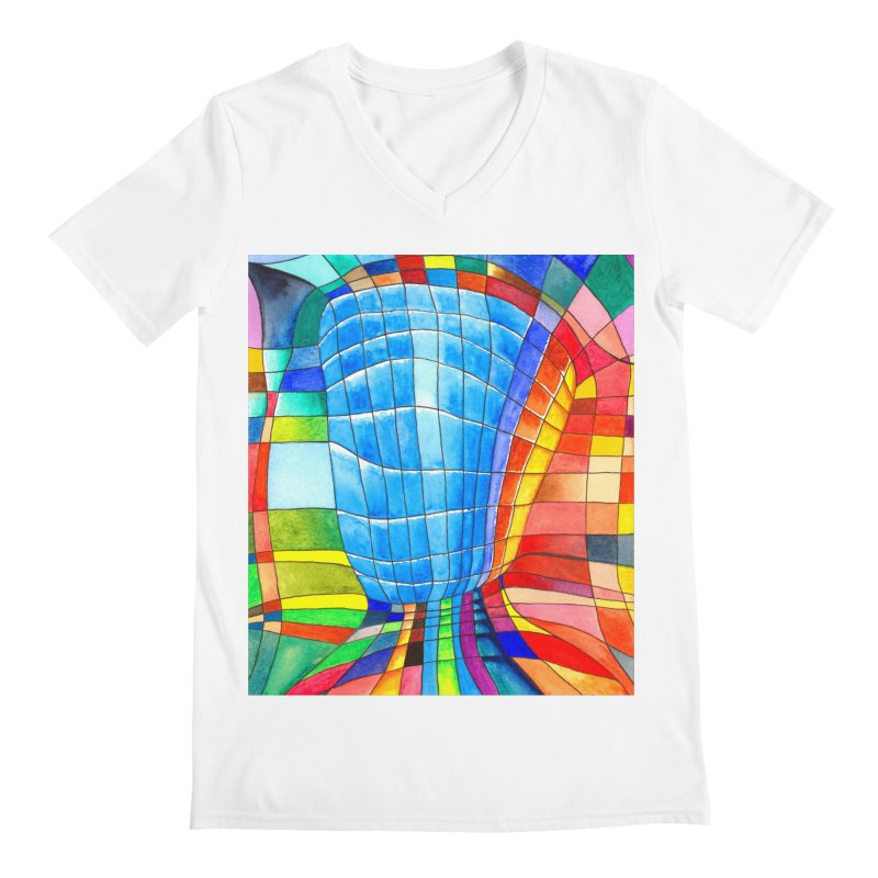 I'd like to go out with you(tube). Would you like to go out with me(ssenger)? Men's V-Neck by colourwaveart's Artist Shop