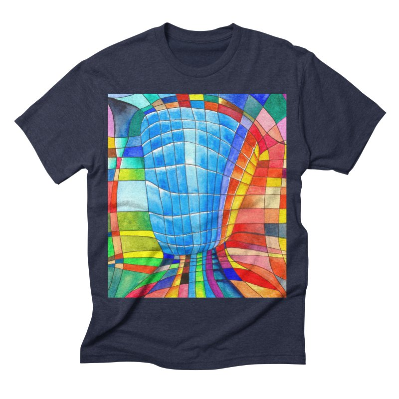 I'd like to go out with you(tube). Would you like to go out with me(ssenger)? Men's Triblend T-shirt by colourwaveart's Artist Shop