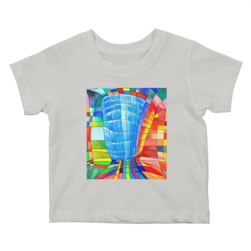 I'd like to go out with you(tube). Would you like to go out with me(ssenger)? Kids Baby T-Shirt by Colour Wave Art SHOP