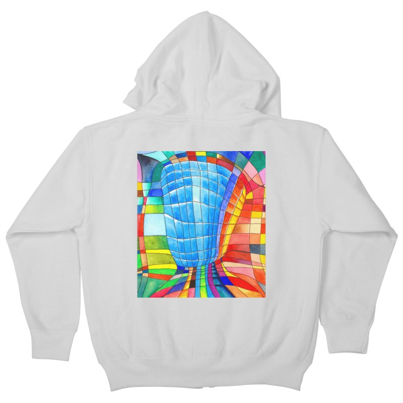 I'd like to go out with you(tube). Would you like to go out with me(ssenger)? Kids Zip-Up Hoody by Colour Wave Art SHOP