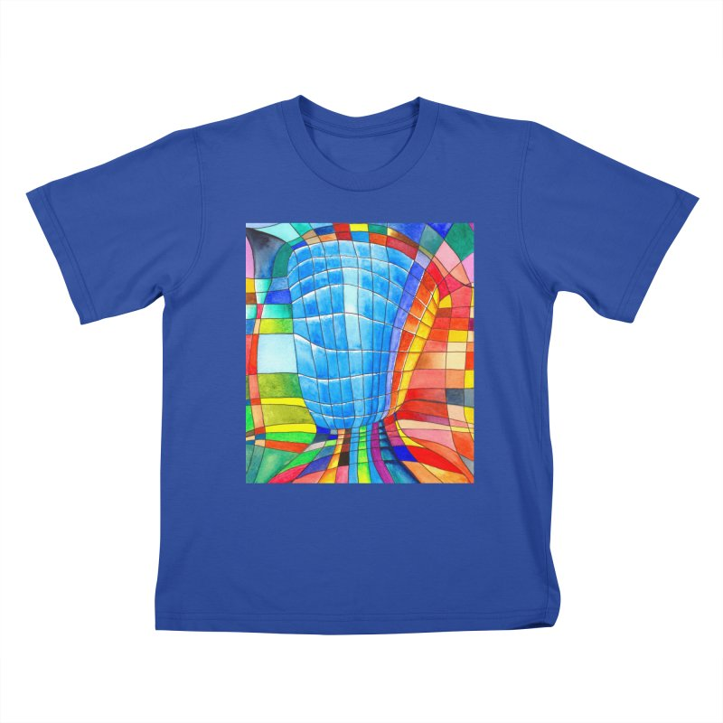 I'd like to go out with you(tube). Would you like to go out with me(ssenger)? Kids T-shirt by colourwaveart's Artist Shop