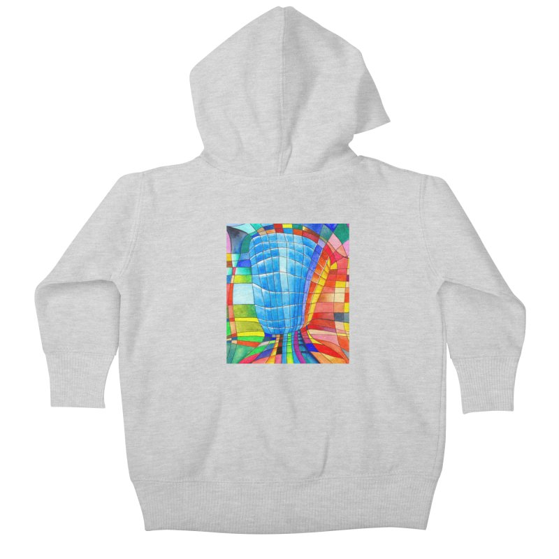 I'd like to go out with you(tube). Would you like to go out with me(ssenger)? Kids Baby Zip-Up Hoody by Colour Wave Art SHOP