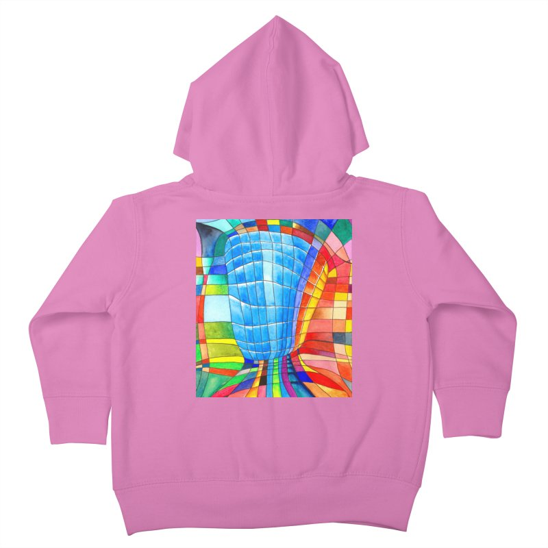 I'd like to go out with you(tube). Would you like to go out with me(ssenger)? Kids Toddler Zip-Up Hoody by Colour Wave Art SHOP