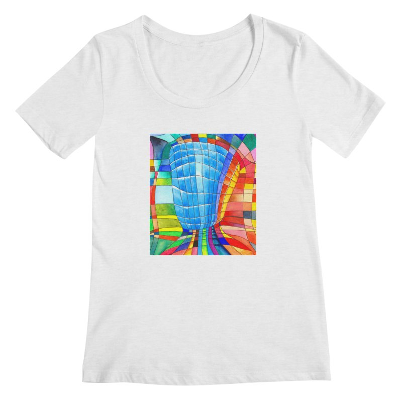 I'd like to go out with you(tube). Would you like to go out with me(ssenger)? Women's Scoopneck by colourwaveart's Artist Shop