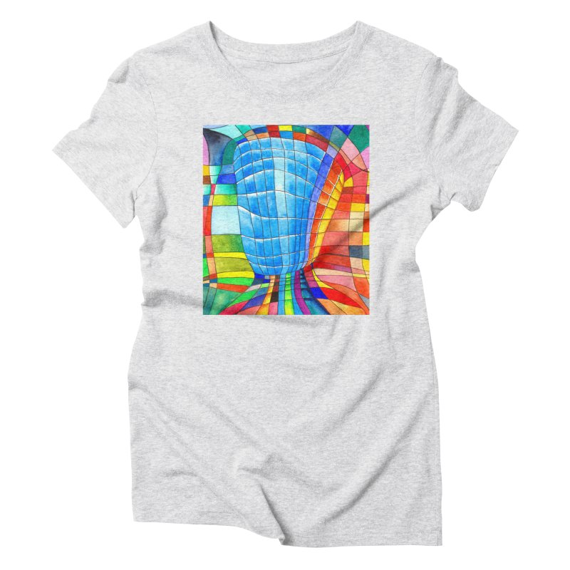 I'd like to go out with you(tube). Would you like to go out with me(ssenger)? Women's Triblend T-Shirt by Colour Wave Art SHOP
