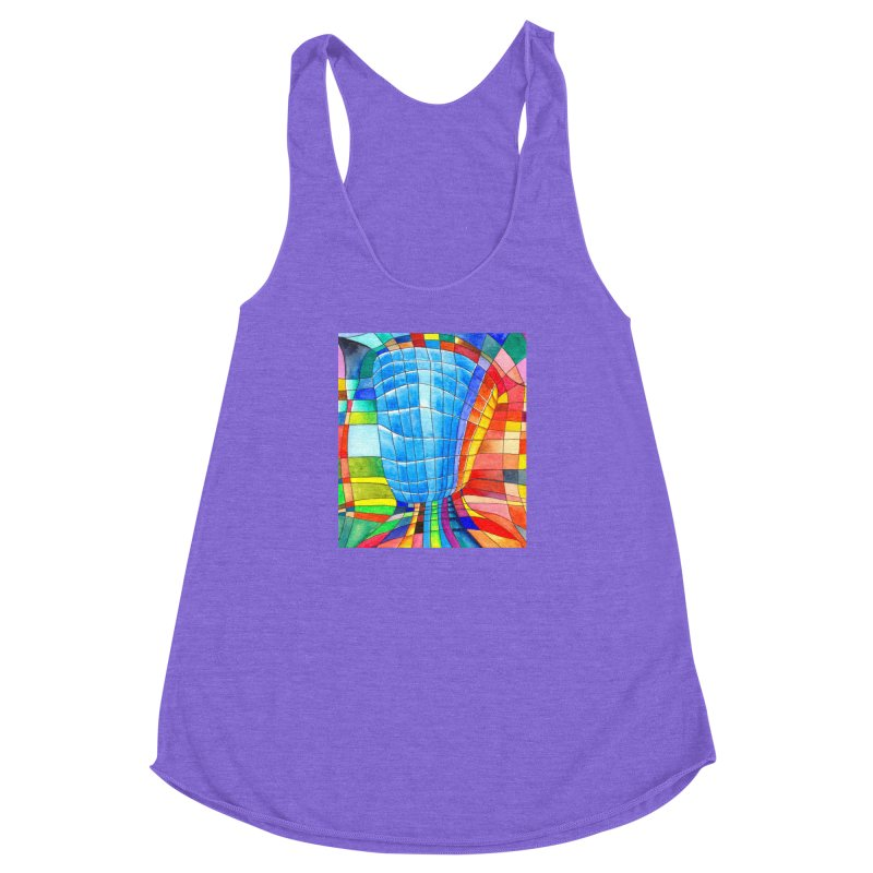 I'd like to go out with you(tube). Would you like to go out with me(ssenger)? Women's Racerback Triblend Tank by Colour Wave Art SHOP