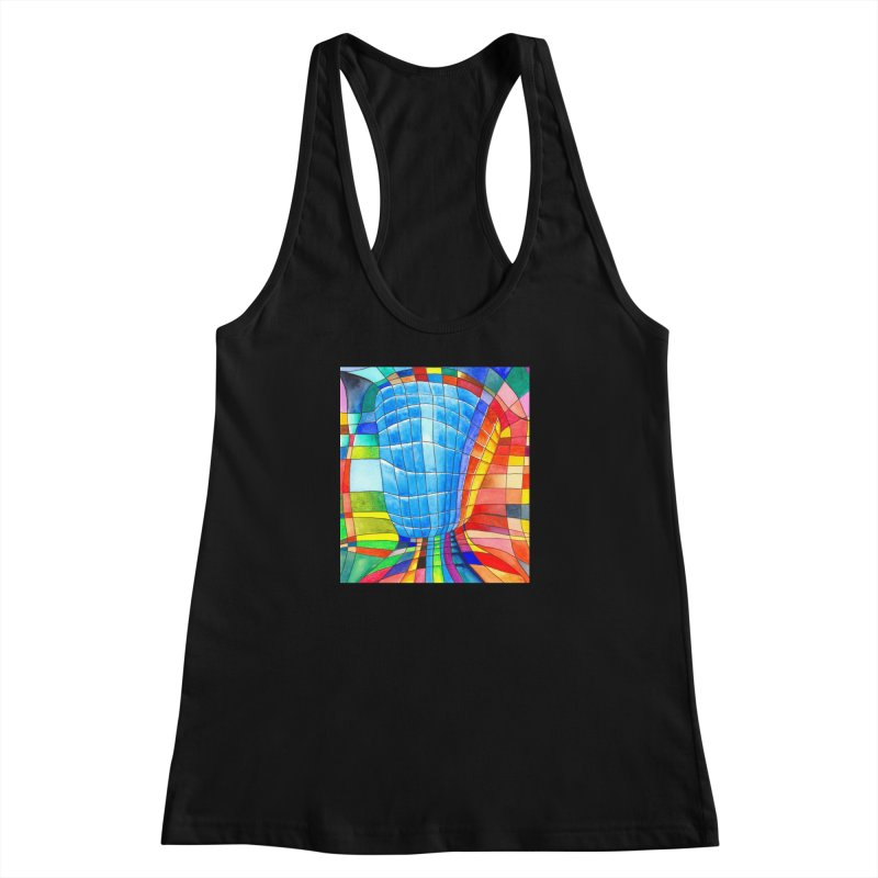 I'd like to go out with you(tube). Would you like to go out with me(ssenger)? Women's Racerback Tank by Colour Wave Art SHOP