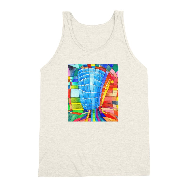 I'd like to go out with you(tube). Would you like to go out with me(ssenger)? Men's Triblend Tank by Colour Wave Art SHOP