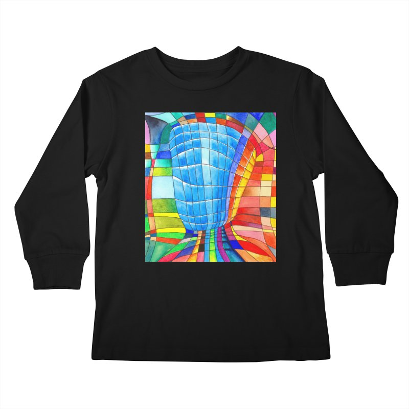 I'd like to go out with you(tube). Would you like to go out with me(ssenger)? Kids Longsleeve T-Shirt by colourwaveart's Artist Shop