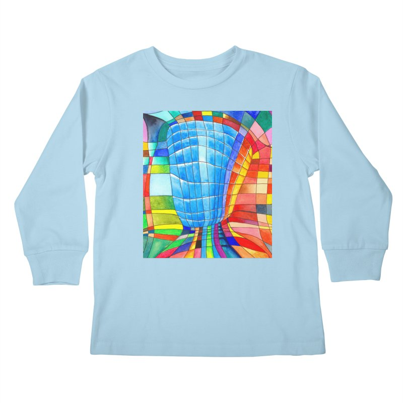 I'd like to go out with you(tube). Would you like to go out with me(ssenger)? Kids Longsleeve T-Shirt by Colour Wave Art SHOP