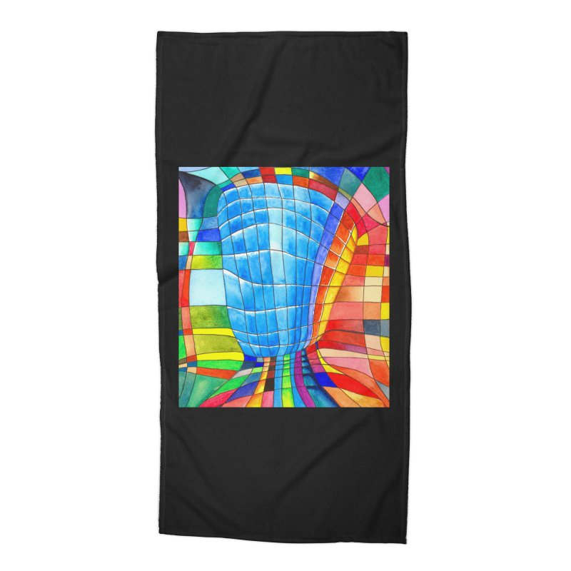 I'd like to go out with you(tube). Would you like to go out with me(ssenger)? Accessories Beach Towel by Colour Wave Art SHOP