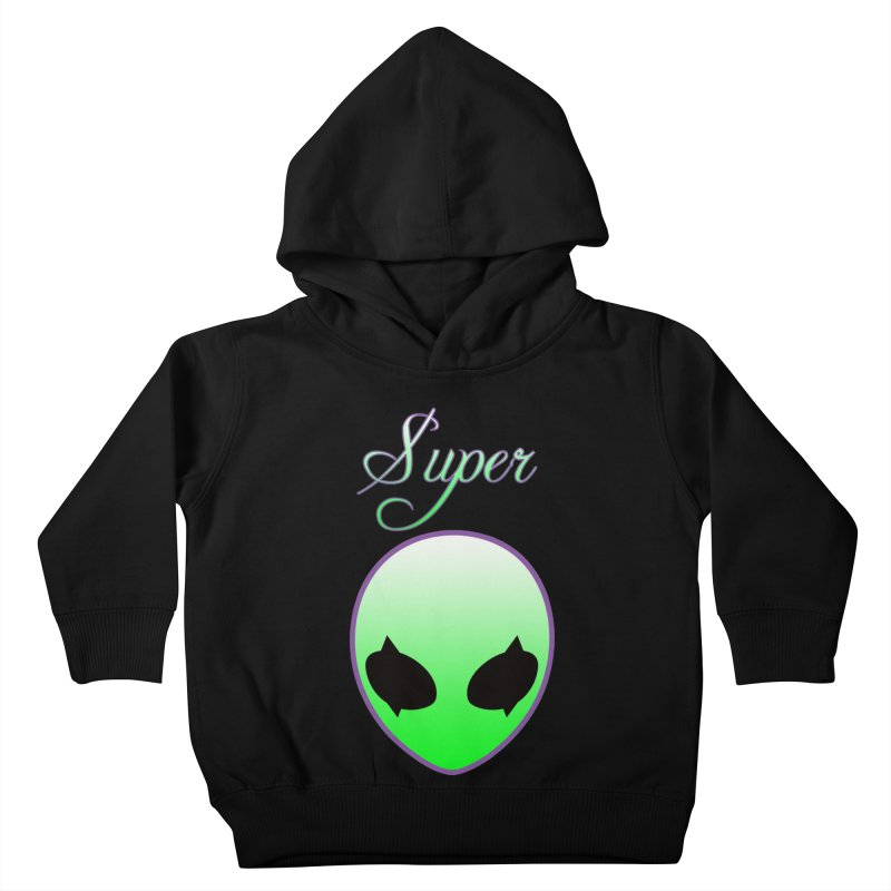 Super Natural Streetwear Kids Toddler Pullover Hoody by Coma Free Urban Art & Design